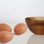 Cooked eggs or raw eggs?