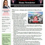 Carolina's Home Newsletter Jan 2018