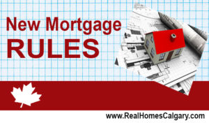 Mortgages – New rules affecting the purchase of homes in Canada.